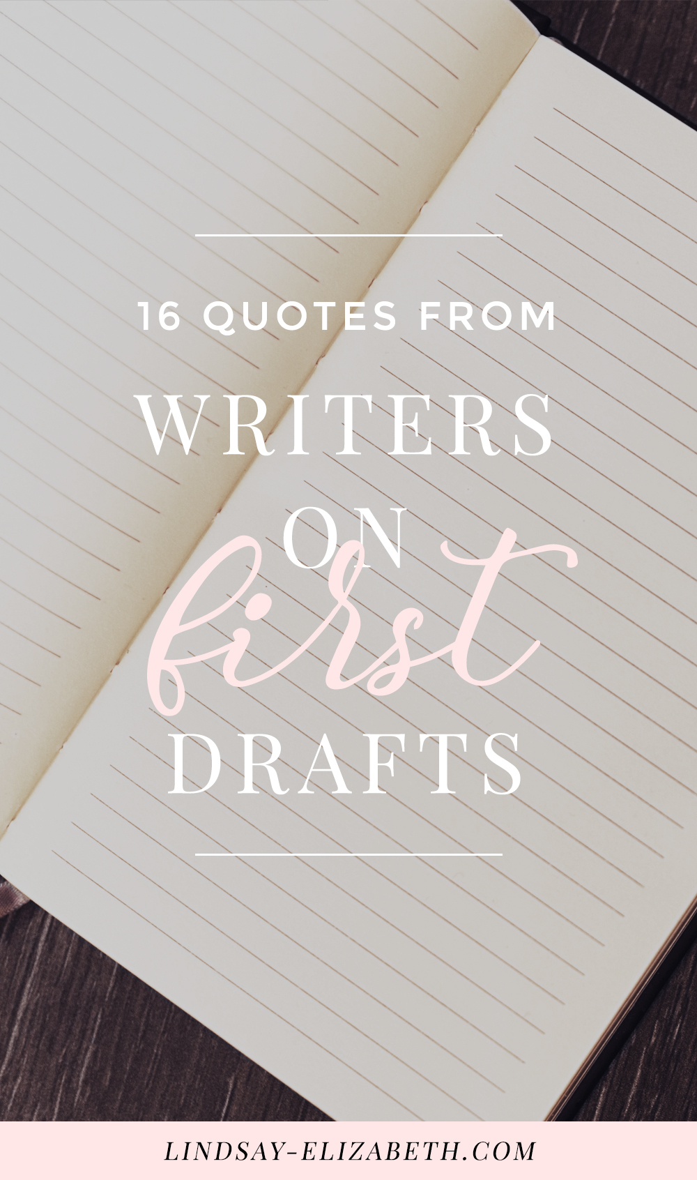 Slaving on the first draft of a story or novel? Here are some quotes from writers to help you get through it. #writing #writers #authors