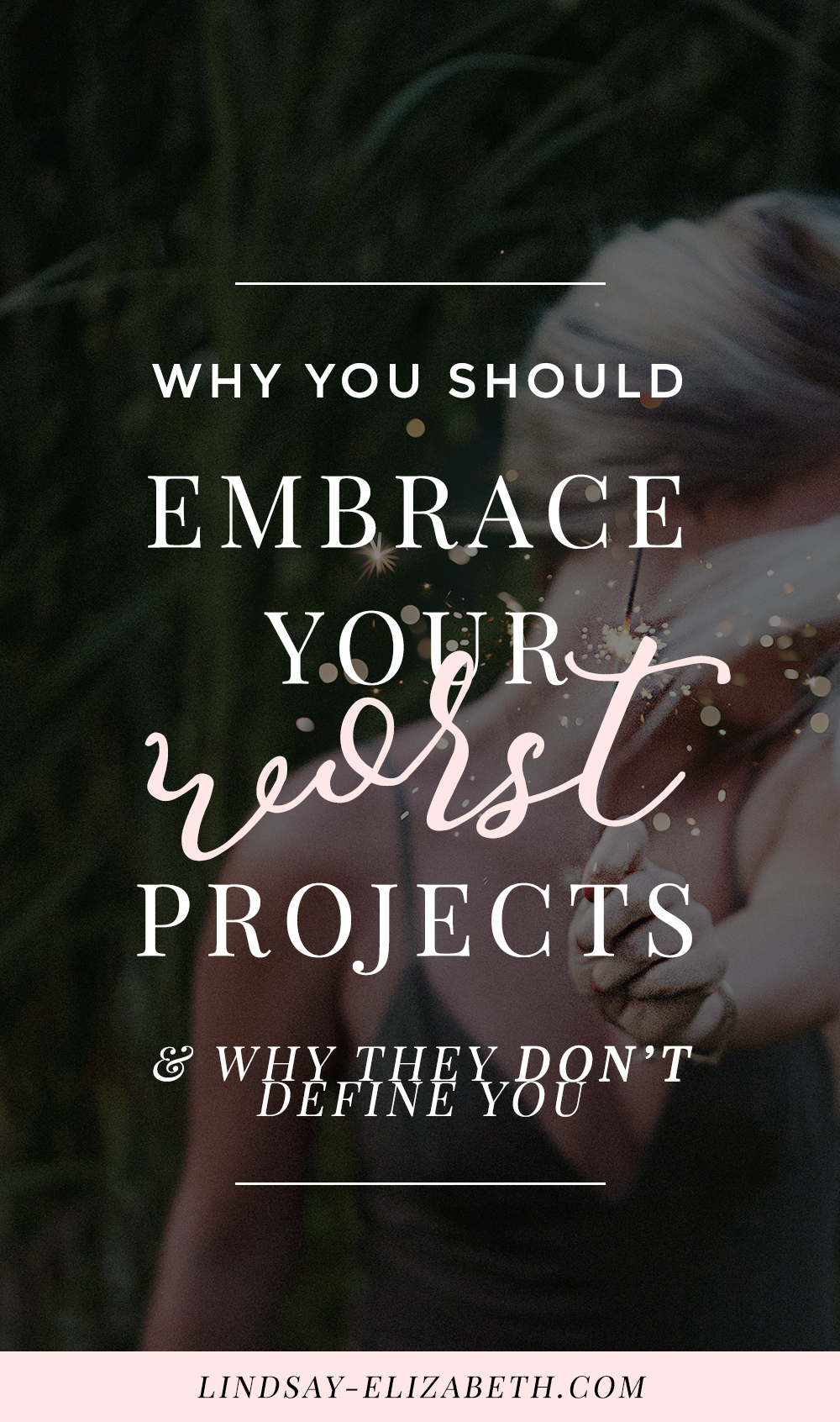 We all have them: those projects we thought would be spectacular but fell short of our expectations. Way short. Do those projects mean you aren't cut out for this? Not by a long shot - and here's why (with a real life example of two brilliant writers).